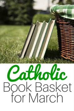 Great books about Catholic saints for March - perfect for families wanting to supplement religious education at home or live the liturgical year. Make these books a part of your life!