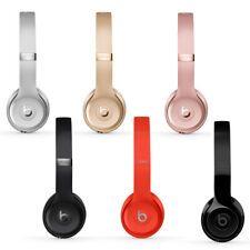Beats Solo3 Wireless On Ear Headphones Gloss Black Matt Silver Gold Red Discount 61 Beats Solo Headphones In Ear Headphones Black Headphones