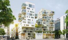 Étude urbaine Macro-lot Fulton (Logements, crèches, commerces)   Brenac & Gonzalez