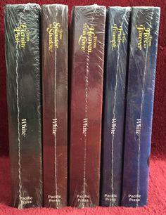 80 best livros ellen white images on pinterest books ellen g conflict of the ages new condensed set ellen g white adventist sda egw 5 books fandeluxe Gallery