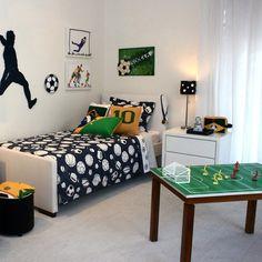 decoração de futebol