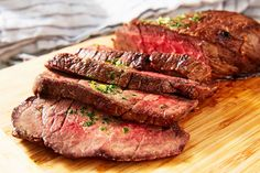 London Broil Is Basically The Best Steak EverDelish Baked London Broil, London Broil Steak, Grilled London Broil, London Broil Recipes, Cooking London Broil, London Broil Marinade, Roast Recipes, Entree Recipes, Cooking Recipes