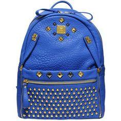 MCM Studded Stark Special Medium Backpack