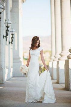 #wedding #dress #modest by aileen