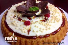 Karamel Soslu Kremalı Tart Kek