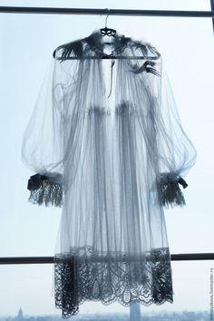 Платья ручной работы. Ярмарка Мастеров - ручная работа. Купить Изысканное платье из мягкой сетки с французким кружевом. Handmade. сетка