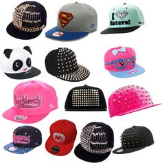 """snapbacks"" by supercuteswagg ❤ liked on Polyvore"