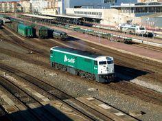 La locomotora diésel eléctrica serie 321 de Renfe, una máquina de Alco   Suite101