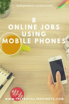 online jobs using mobile phones