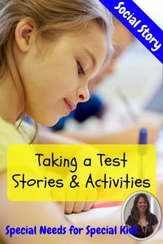 For students with autism and special learning needs, this social story and activities are meant to help students understand appropriate behaviors while taking a test.  45 pages of material that is differentiated for various levels of learning and learning