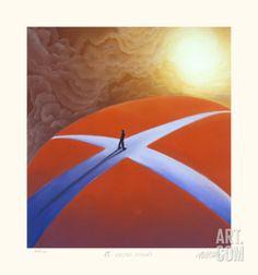 A Crossroads Limited Edition by Mackenzie Thorpe at Art.com