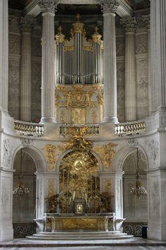 Versailles France :: Château de Versailles :: Chapelle Royale :: Orgue √ www.organsofparis...