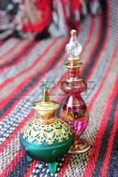 Frascos de perfume de Egipto