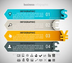 Business Infographic Template PSD, Vector EPS, AI. Download here: http://graphicriver.net/item/business-infographic/15738994?ref=ksioks
