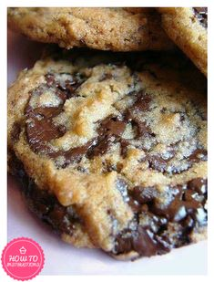 OMG Best Chocolate chip cookies ever