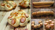 Twisted hotdogbroodjes ~ Ja, ik kan koken