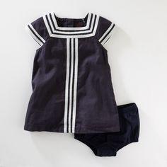Adorable Modern Sailor Dress Marina Dress