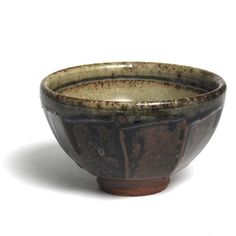 Richard Batterham - stoneware tenmoku bowl