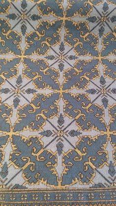 Cross Stitch Embroidery, Cross Stitch Patterns, Rugs, Fabrics, Farmhouse Rugs, Tejidos, Cloths, Rug, Counted Cross Stitch Patterns