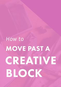 Creative blocks can certainly make life difficult for people in creative fields. Today, we& exploring ways 6 ways to move past your creative block. Web Design, Writing Inspiration, Creative Inspiration, Business Inspiration, Smash Book, Make Money Blogging, How To Make Money, Branding, Creative Business