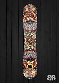 Africa Bambata Snowbord Wrap - By Board Rockers