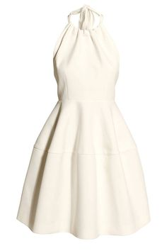SOOO in love with this little white dress! 20 Best White Dresses - Little White Summer Dresses - Elle