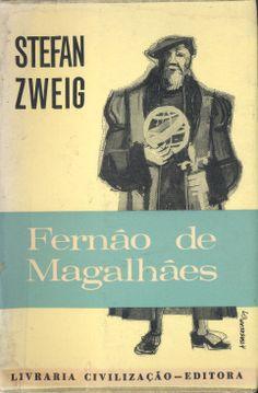 Fernão de Magalhães - Stefan Zweig | Capa de Baganha