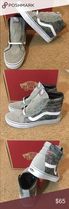 SK8HI Reissue Desert Aloha Vans New in box. Drizzle/Ch Vans Shoes Sneakers