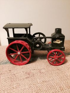 Vintage Advanced Rumely Oil Pull Diecast By Sweetserendipityvint