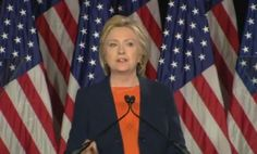 Hillary Clinton didn't just deliver a foreign policy speech. Former Sec. Clinton turned Trump into a national joke who can't be trusted with the presidency. Hillary Clinton Speech, Trump Vs Hillary, Us Presidential Elections, Trump Quotes, Trump Speech, Fbi Director, Morning Joe, Cnn Politics