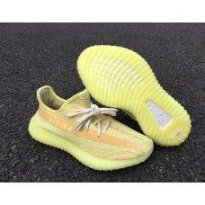 new style 23920 8c578 Adidas Yeezy 350 Boost V2 SPLY-350 Fluorescent All Gul Sko Nettbutikk,  Adidas Yeezy