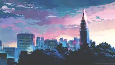 Animated gif discovered by Endlessly. Find images and videos about gif, anime and sky on We Heart It - the app to get lost in what you love. Arte 8 Bits, The Garden Of Words, Ushijima Wakatoshi, Anime Gifs, Anime Art, Foto Gif, Chill, Scenery Wallpaper, Gif Animé