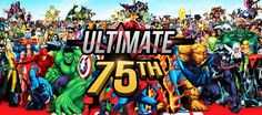Ultimate 75th, le site complet sur l'univers Marvel réalisé par des étudiants français