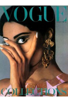 60s Fashion & Beauty on Vogue Covers - Twiggy, Britt Ekland | British Vogue