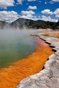 Champagne Pool - New Zealand