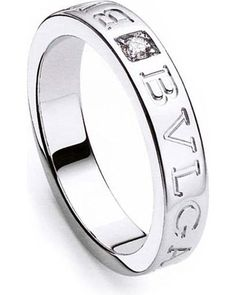 bvlgari bulgari inspired 14kt white gold ring