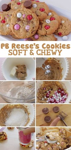 These PB Reese's Cookies are soft, gooey, and rich in chocolate and peanut butter flavor in every bite! Make these at home by using this easy and quick cookie recipe and watching my video tutorial! Reese's Cookies, Quick Cookies, Baking Cookies, Popular Cookie Recipe, Best Cookie Recipes, Sweet Recipes, Creamy Peanut Butter, Peanut Butter Cups, Quick Easy Meals