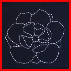 Shashiko Embroidery