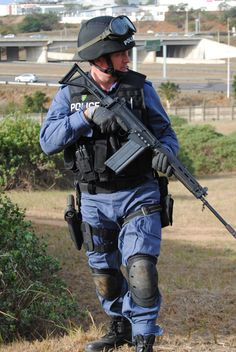 South African Police Service.