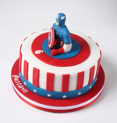 captain america cake ideas | Captain+America++cake+2.JPG
