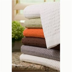 Modern Design Waffle Weave Bath Sheet  Slate -- Click image to review more details.