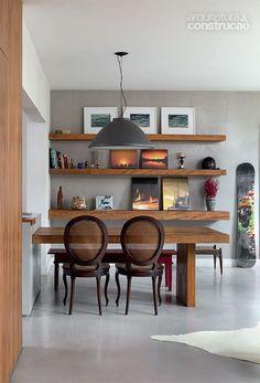 Reforma em apartamento deixa a cozinha aberta para a sala - Casa