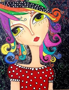 . Illustrations, Illustration Art, Karla Gerard, Art Pictures, Photos, Z Arts, Colorful Artwork, Whimsical Art, Amazon Art
