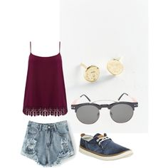 Untitled #3 by abbietee on Polyvore featuring polyvore, fashion, style, M&Co, Timberland and Urban Renewal