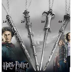 Harry Potter Magic Wand Pendant Necklace 2016 - $2.99