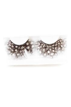 #FashionVault #kandy kouture #Women #Accessories - Check this : White Black Two Tone Faux Eyelashes for $19.99 USD