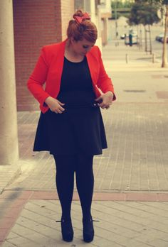 dresstidos: Dress/Vestido: Primark Shoes/Zapatos: Primark Bow/Lazo: h&m Blazer: Zara