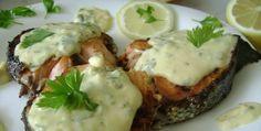 Somon cu sos olandez Good Food, Vegan, Cooking, Breakfast, Mariana, Kitchen, Morning Coffee, Vegans, Healthy Food
