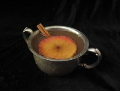 Wassail:  Packs a sweet, spicy wallop on a cold evening, with an alcohol content that pretends like it's not there.  But it is, so watch out!
