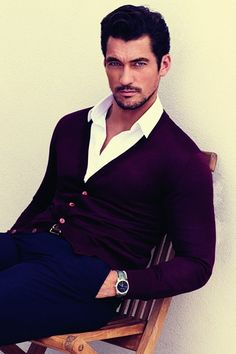 "David Gandy and Bianca Balti, the face of Light Blue Pour Femme - ""David Gandy's guide to smelling great - GQ.co.uk"""